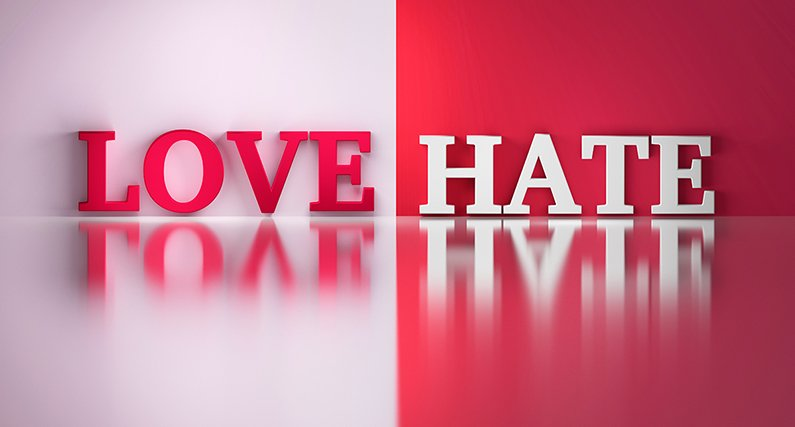 Love/Hate – The Power of Colour